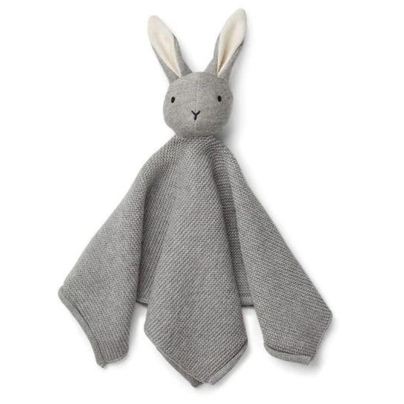 LIEWOOD MILO KNIT CUDDLE CLOTH - RABBIT GREY